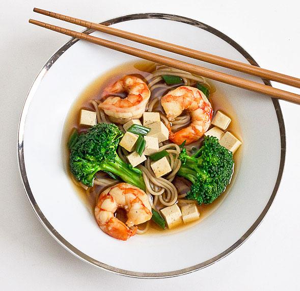 recipe: seafood soba soup [6]