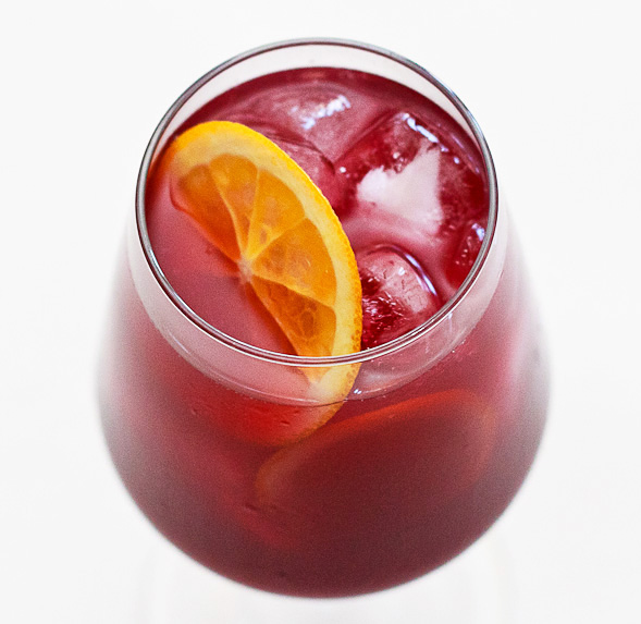 Summer sangria with orange curacao wishful chef i absolutely love a cold glass of sangria during the summer last year i posted a traditional spanish sangria recipe and this time i wanted to change it up thecheapjerseys Choice Image