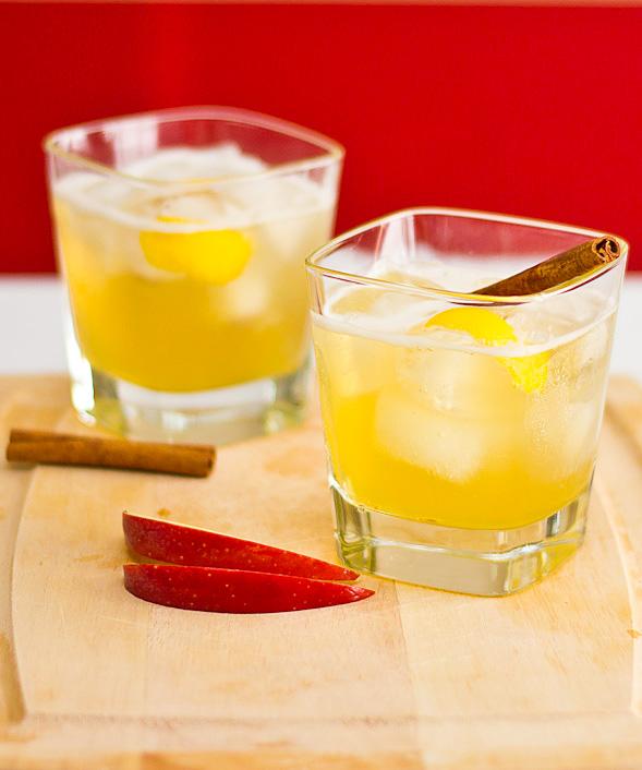 Apple Bourbon Cocktail