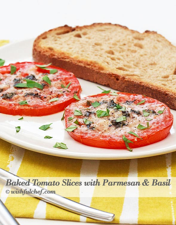Baked Tomato Basil Parmesan