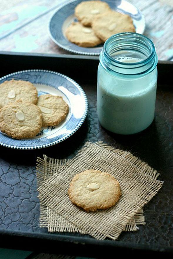 Bonus Recipe: Vegan Almond Cookies {Paleo, Vegan, Gluten-Free}