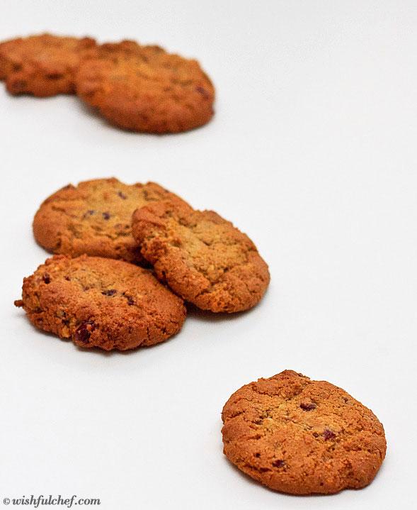 Macadamia Cranberry Cookies 2