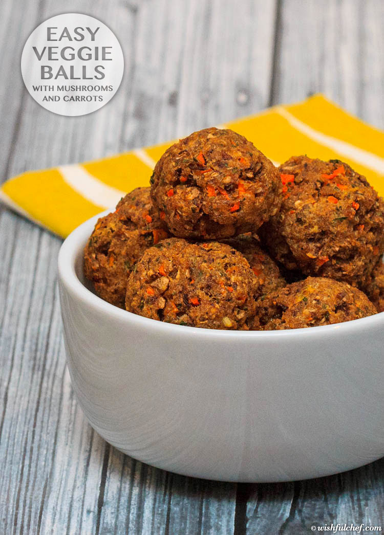 Are they vegetarian meatballs? Or no-meatballs? Or faux meatballs? Or veggie balls? No matter what you call them, having one go-to (not-)meatball recipe is essential for every vegetarian cook.