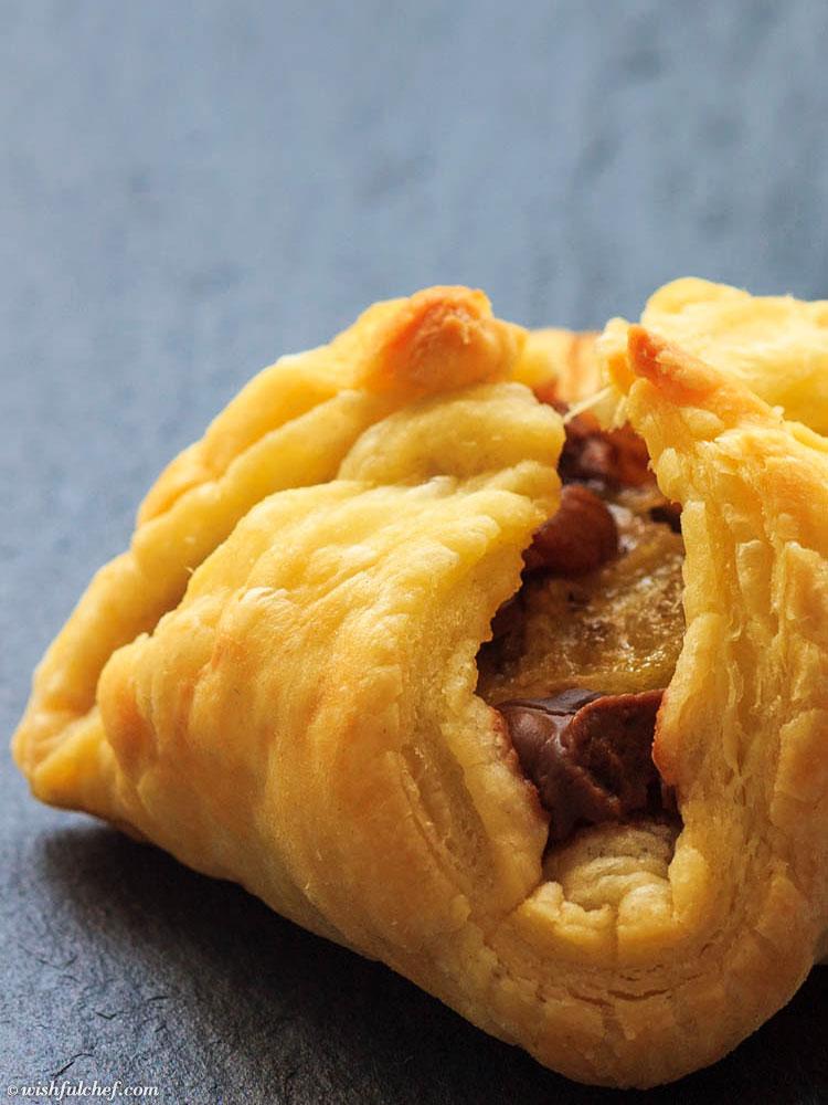 Mini PB Pastry Pockets