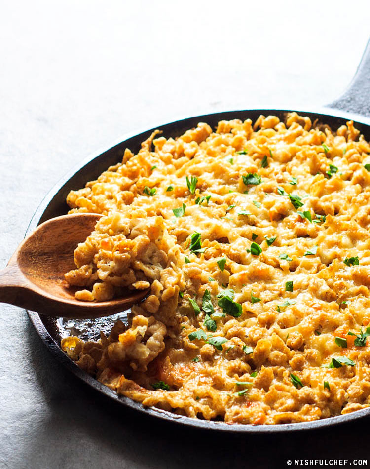 Baked Spaetzle and Cheese