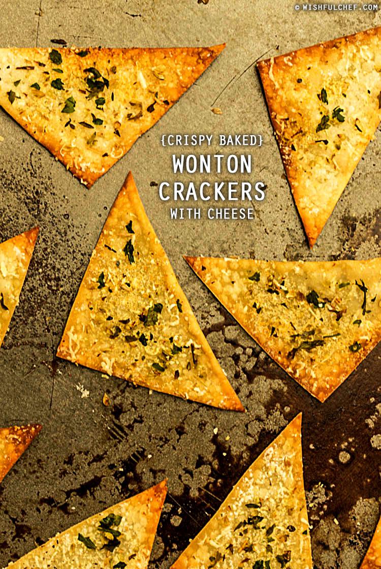 Wonton Crackers